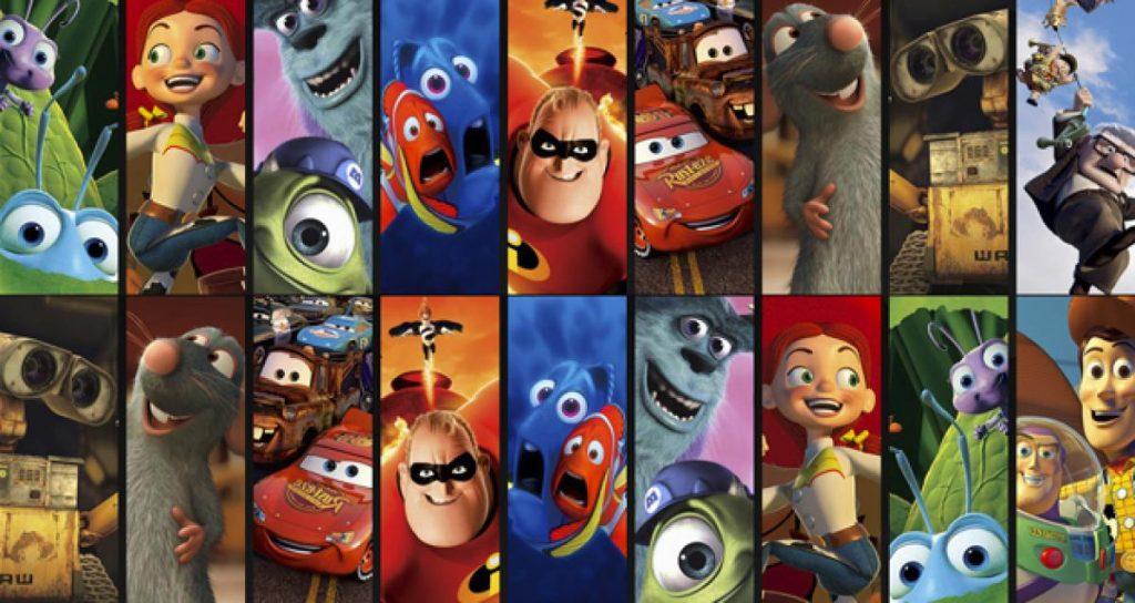 Las diez mejores películas de Pixar